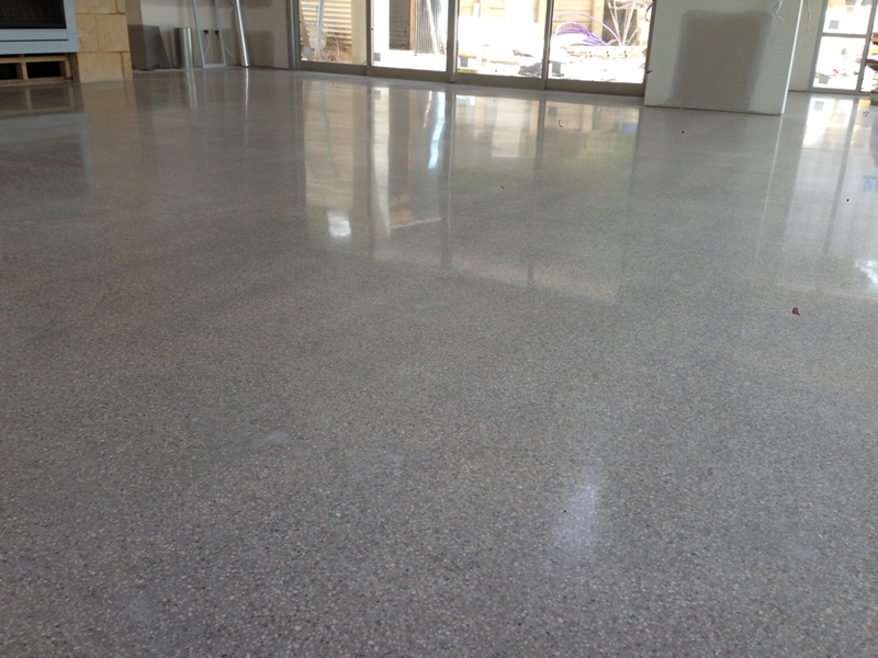 High Polished Concrete Floor in Blairgowrie