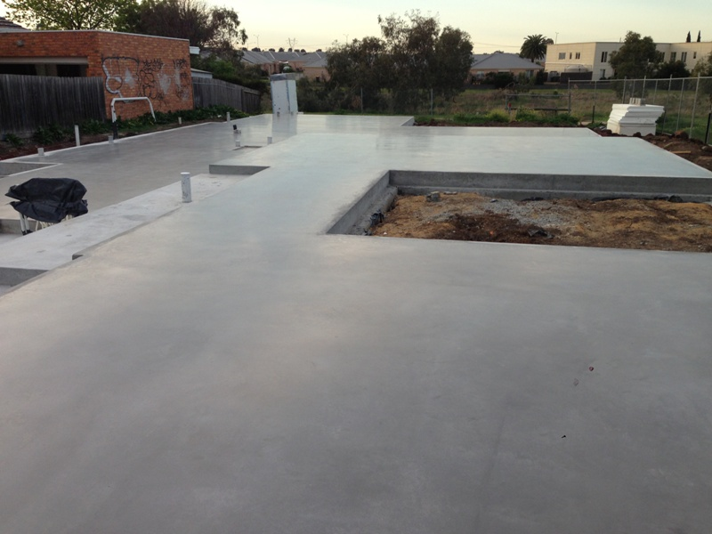 Crc concrete polishing keilor no exposed aggregate for Exposed concrete floor